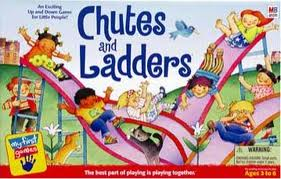 Board Game - Chutes & Ladders Game