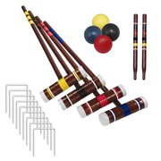 Croquet Set (4 mallets/balls)