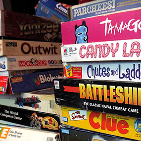 Indoor Games Box