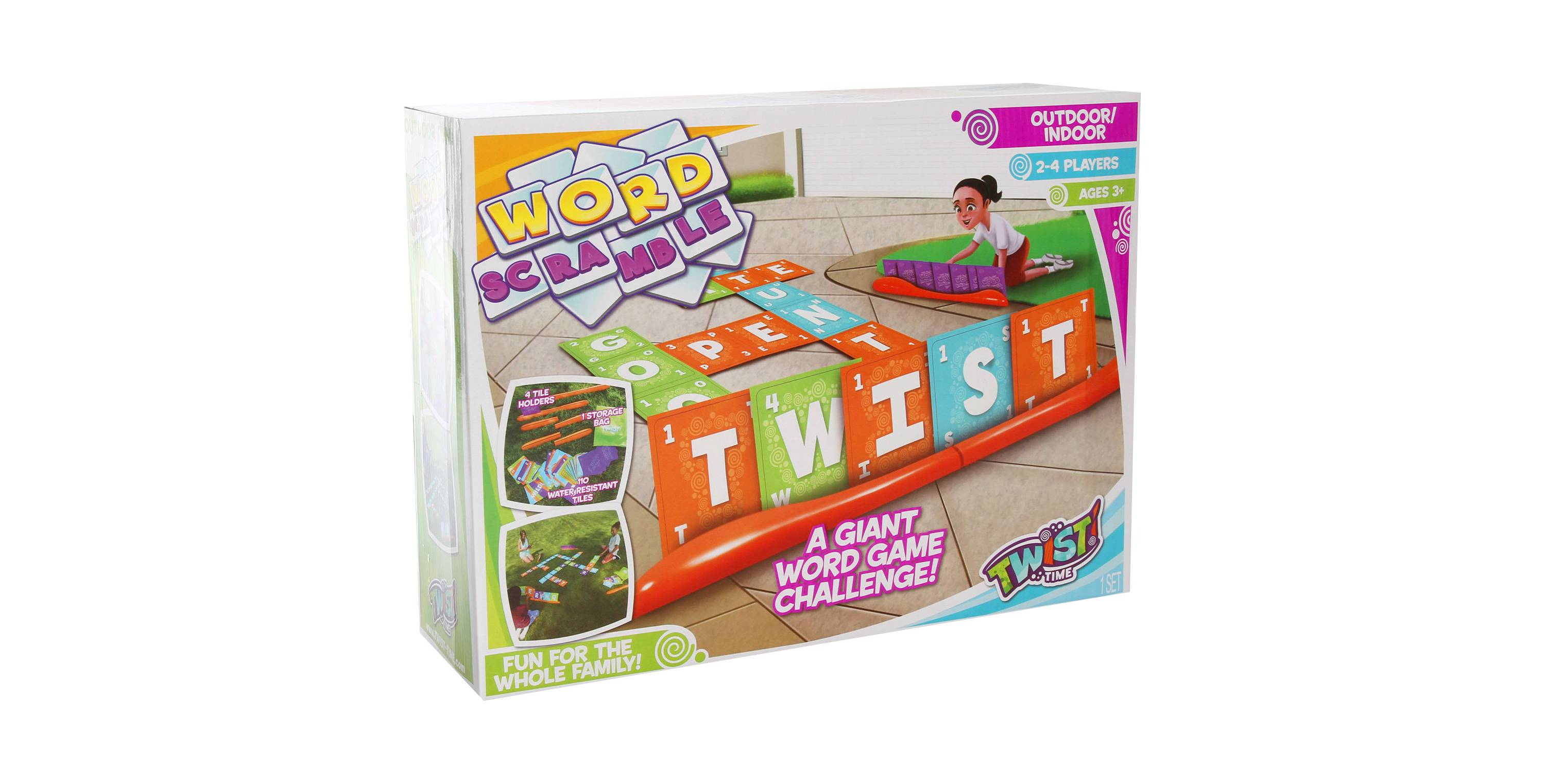 Word Scramble Game Outdoor fun
