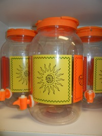 Plastic Water Jars
